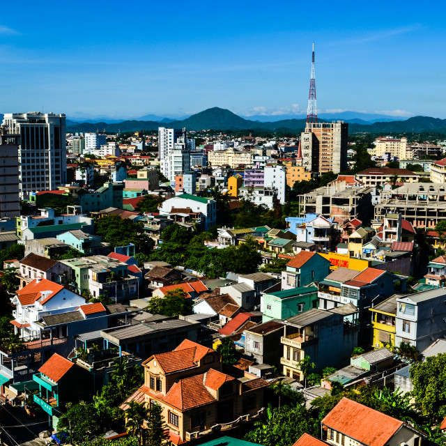 """Huế city"" stock image"