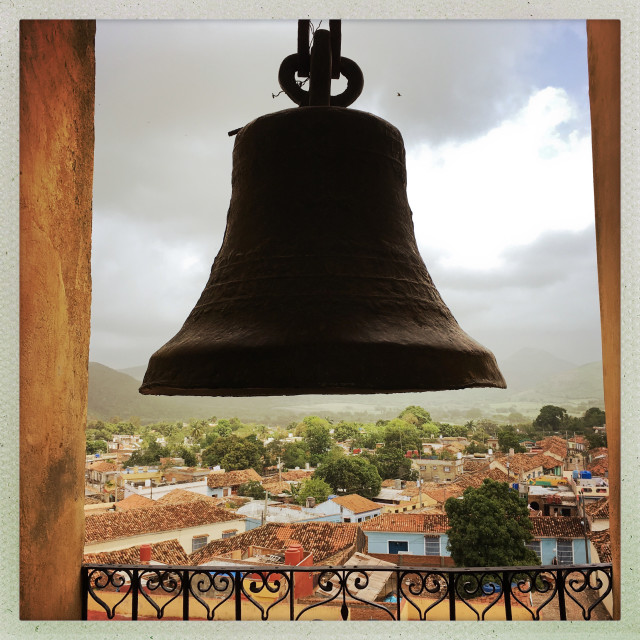 """""""The Bell in the Belfry"""" stock image"""