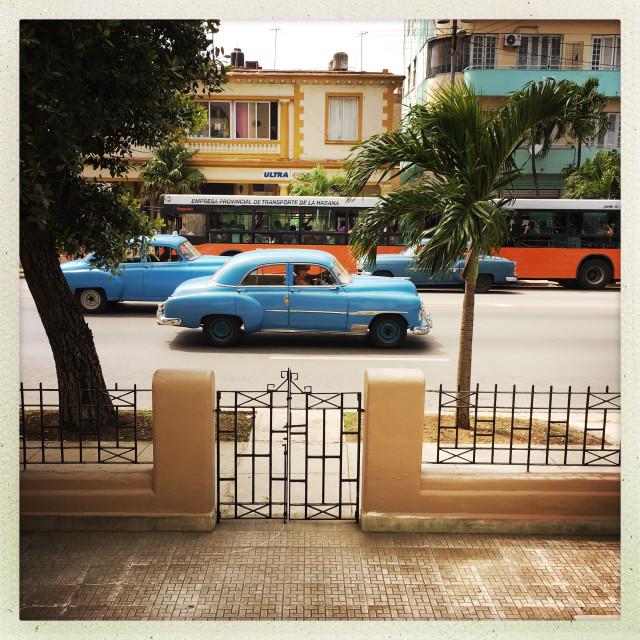 """Cuba Classico Car"" stock image"