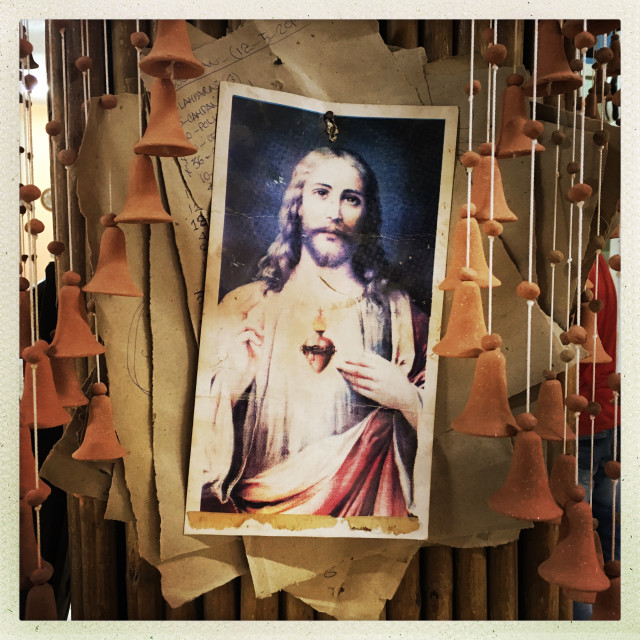 """Poster of Christ Jesus"" stock image"