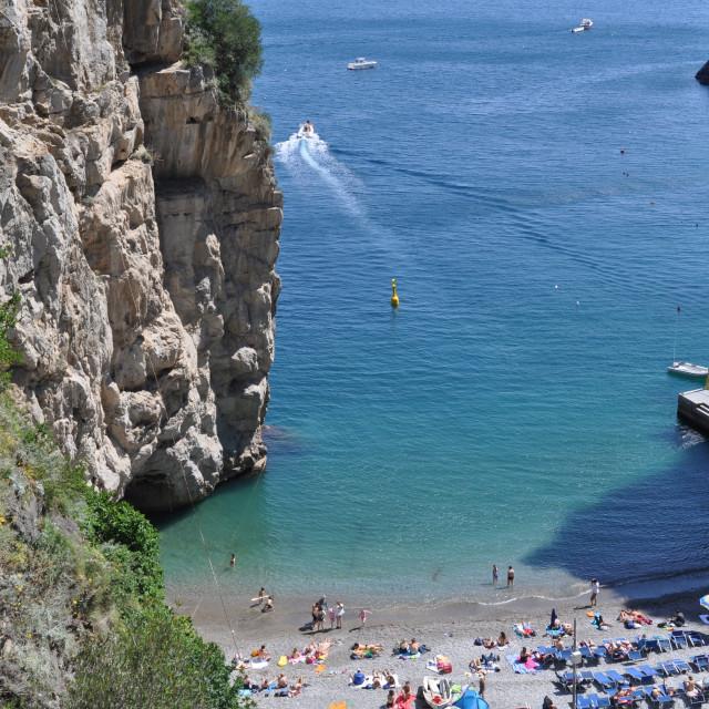 """""""Amalfi Coast Travel"""" stock image"""