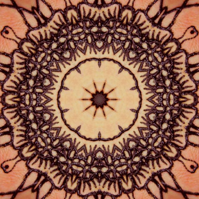 """henna kaleidart"" stock image"
