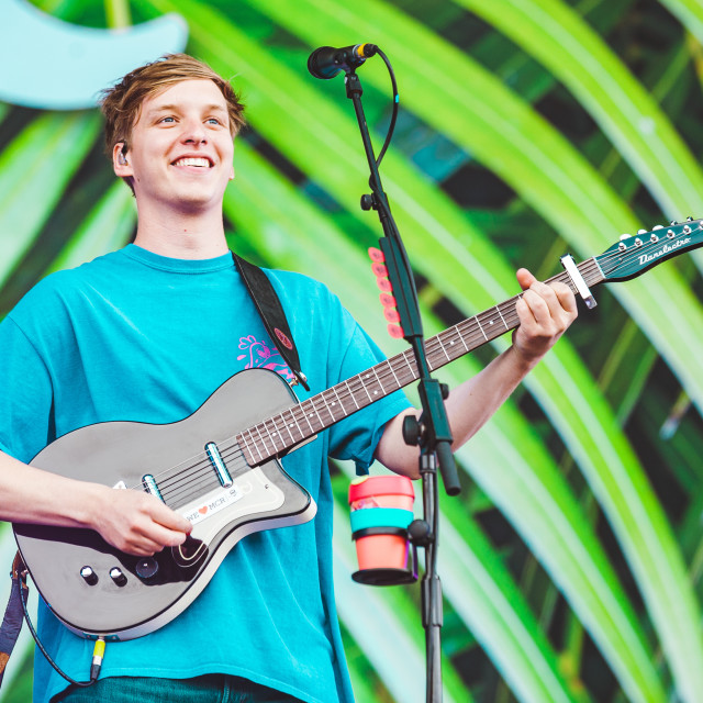 """GEORGE EZRA, Isle of Wight Festival 2017"" stock image"