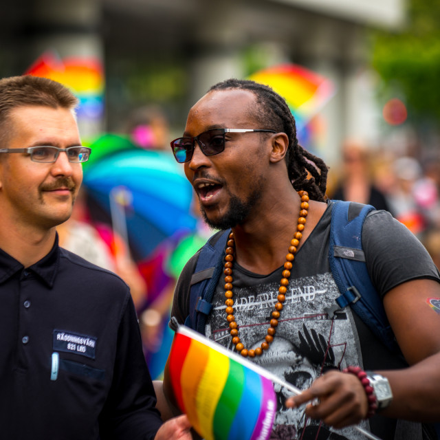 """""""Pride Parade"""" stock image"""
