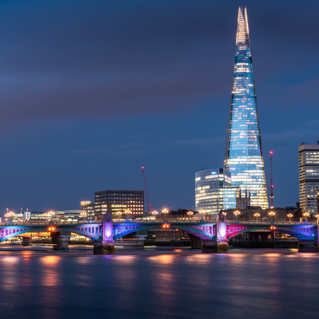 """London Shard"" stock image"