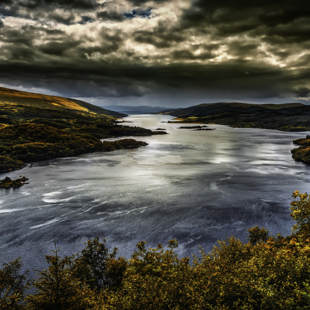 """""""Kyles of Bute"""" stock image"""