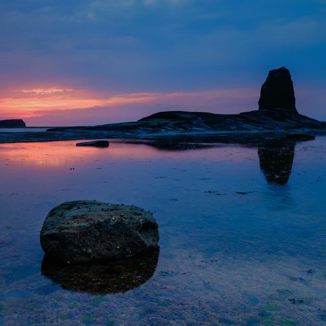 """Midsummer Sunset 2."" stock image"