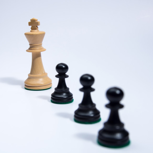 """""""Chess pieces"""" stock image"""