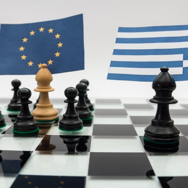 """Greece crisis"" stock image"
