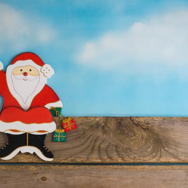 """Santa Claus"" stock image"
