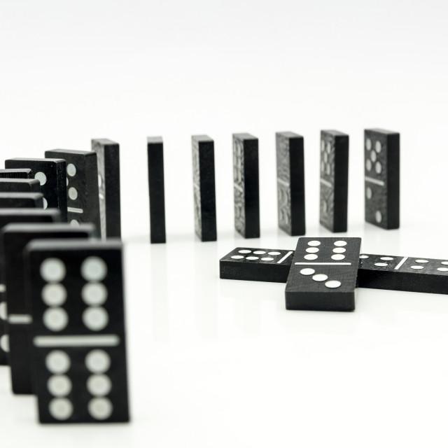 """Domino"" stock image"
