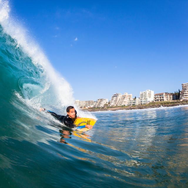 """Surfing Ballito Bay Swimming Ocean"" stock image"