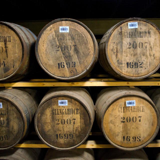 """Glen Garioch Single Malt Scotch Whisky"" stock image"