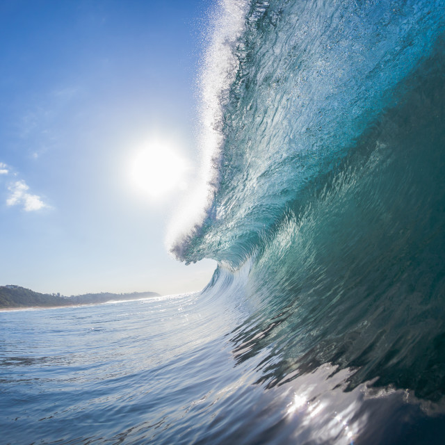 """Wave Inside Out"" stock image"