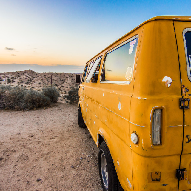 """Vanlife"" stock image"