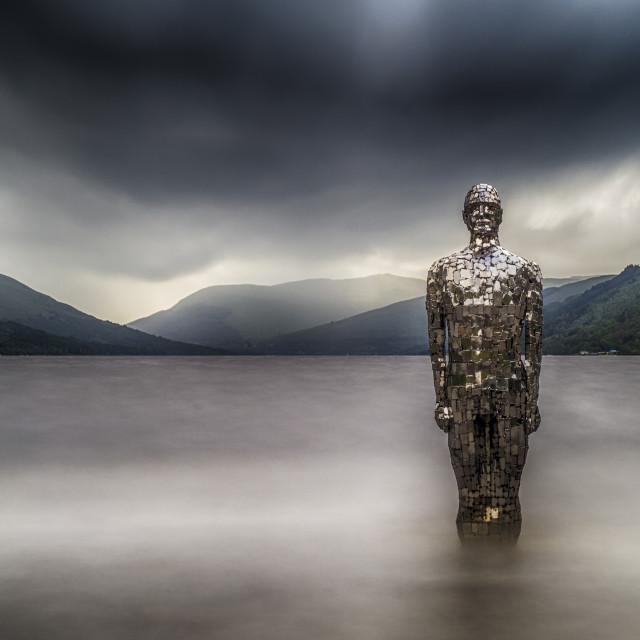 """""""Still, Loch Earn"""" stock image"""
