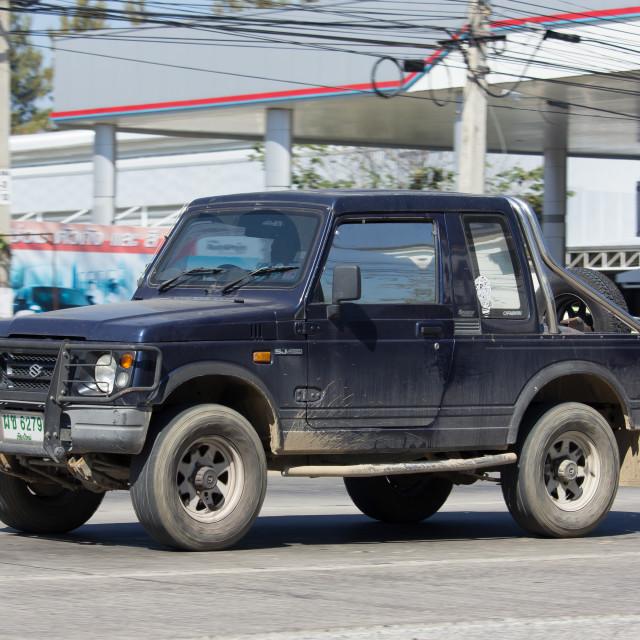 """Private car, Suzuki Caribian."" stock image"