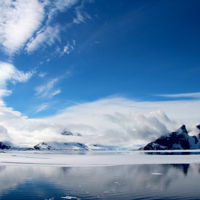 """Beautiful landscape in Antarctica"" stock image"