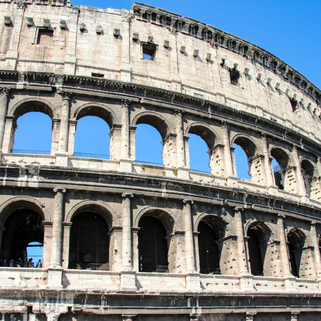 """""""Colosseum in Rome, Italy"""" stock image"""