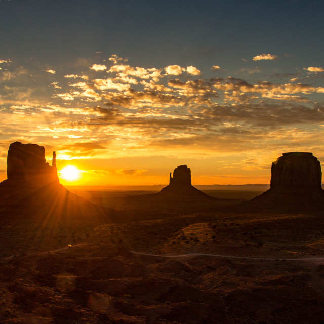 """""""Monument Valley, United States"""" stock image"""