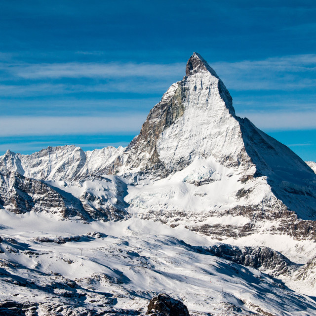"""Matterhorn in the Swiss Alps, Switzerland"" stock image"