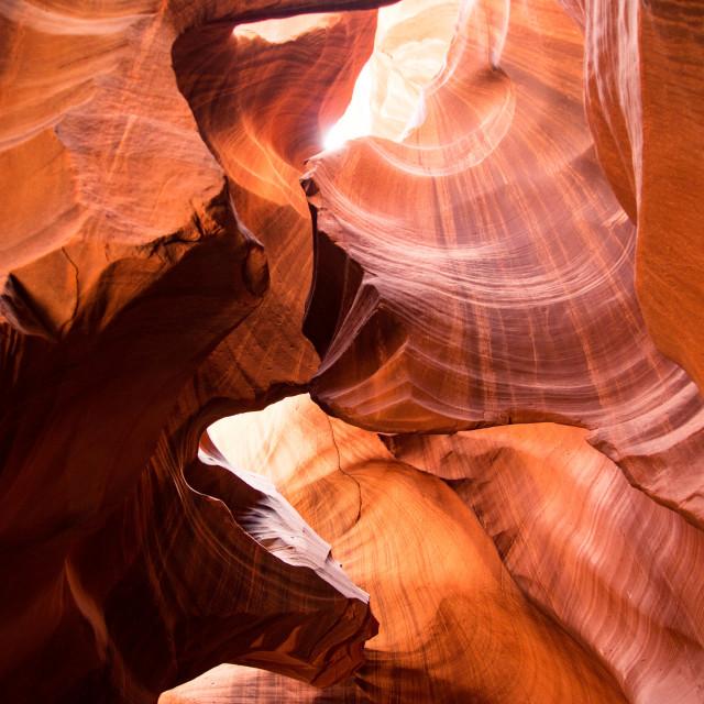 """""""Antelope Canyon, Page, Arizona, United States"""" stock image"""