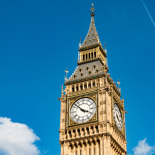 """Big Ben, London, United Kingdom"" stock image"