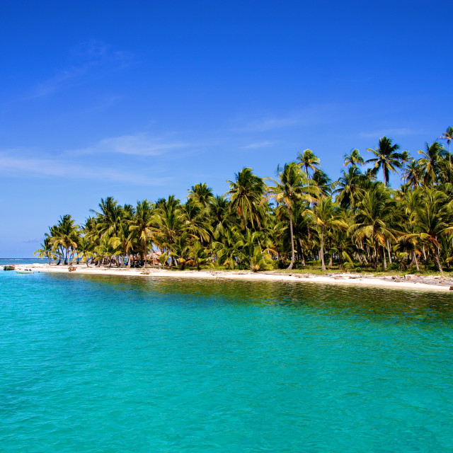 """San Blas Islands in Panama, Central America"" stock image"
