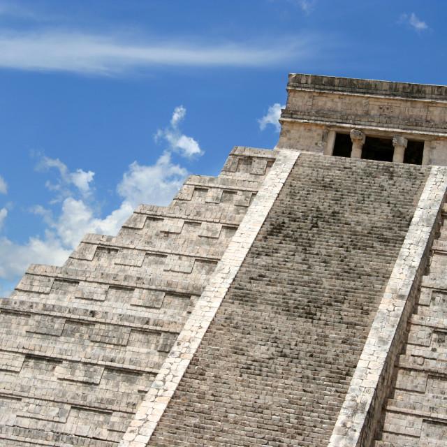 """""""Chichen Itza, Yucatan, Mexico"""" stock image"""