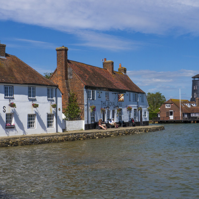 """Langston Harbour ,Hampshire, England"" stock image"