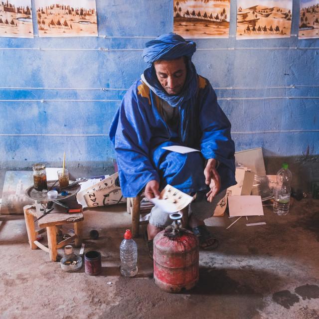 """""""Berber Art"""" stock image"""