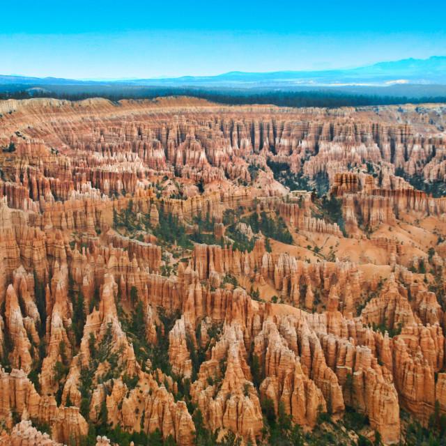 """Bryce Canyon Amphitheater"" stock image"