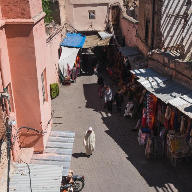 """""""Street in the medina"""" stock image"""