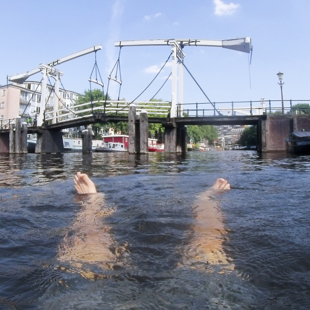 """Amsterdam summer weather"" stock image"