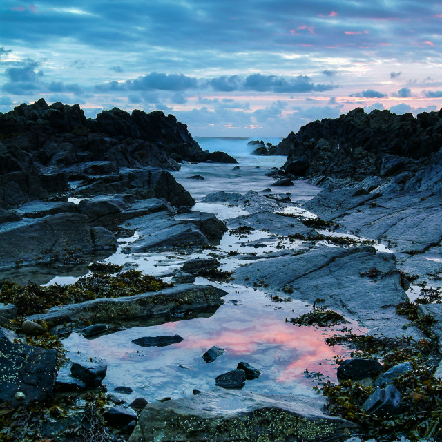 """Rock Pools"" stock image"