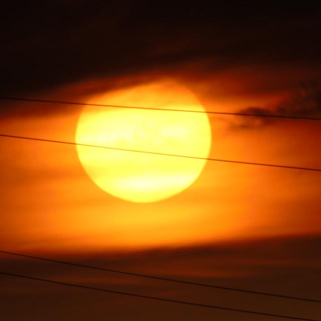 """Sun Zoom"" stock image"
