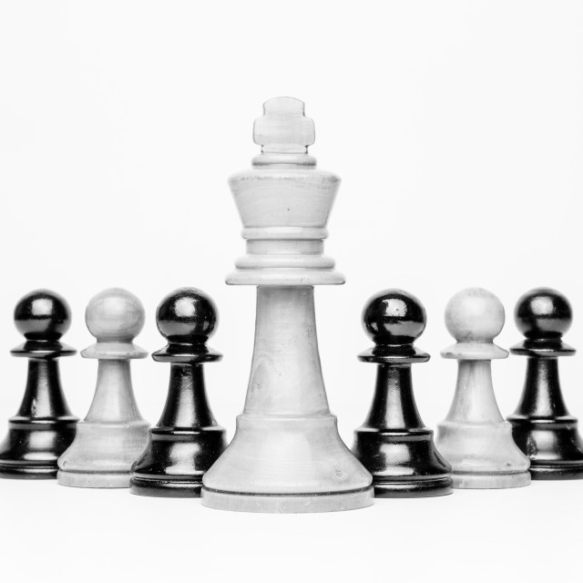 """Chess Pieces"" stock image"