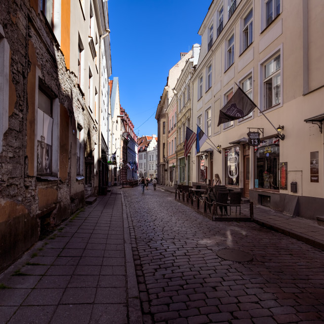 """Route 13 Tallin Estonia"" stock image"