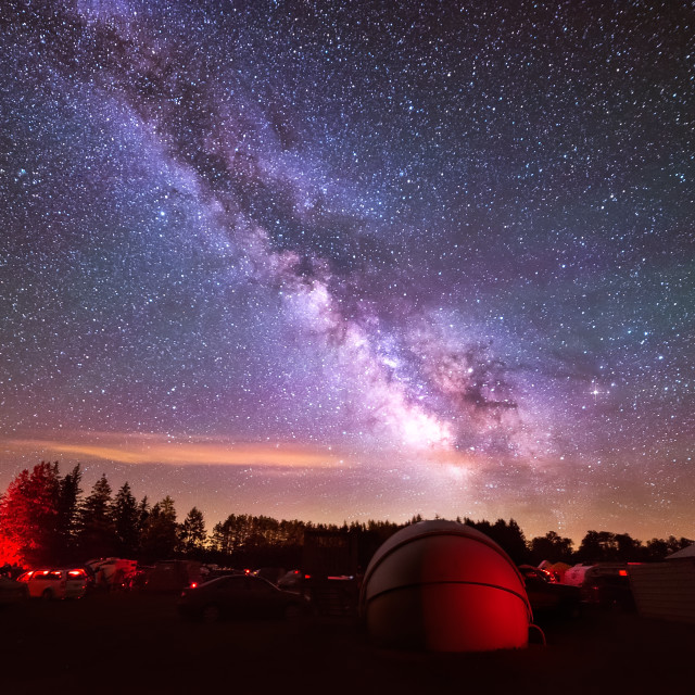 """Beauty of the Night Sky"" stock image"