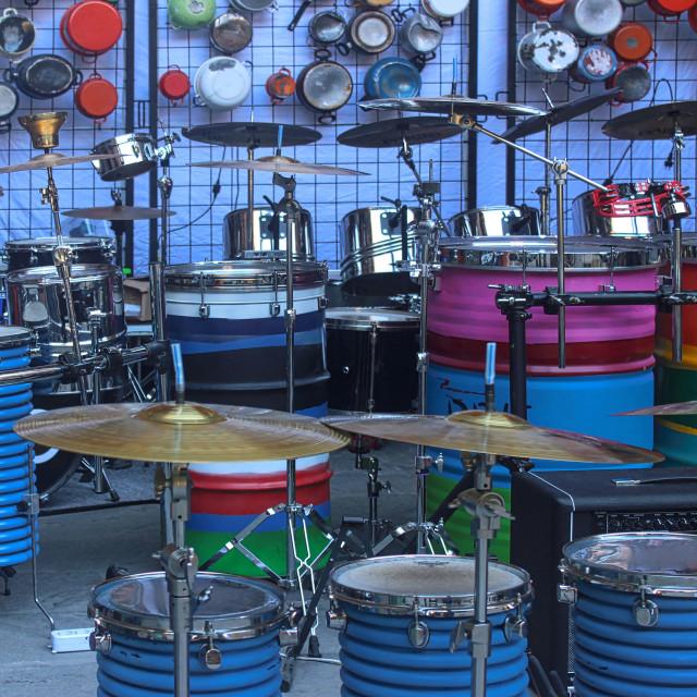 """Percussion"" stock image"