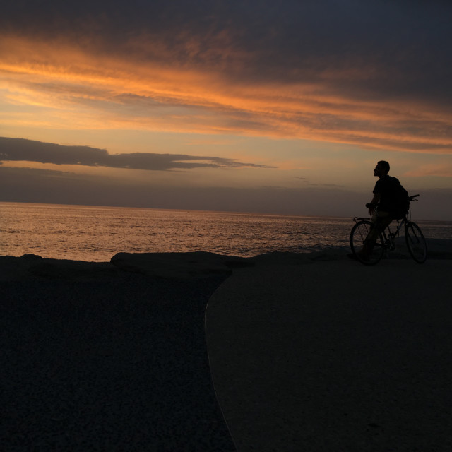 """""""Sunset Sunshine"""" stock image"""
