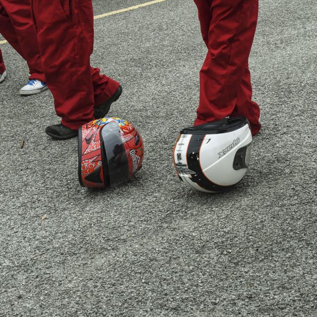 """Dunton Goblins 2017 School kit car races"" stock image"