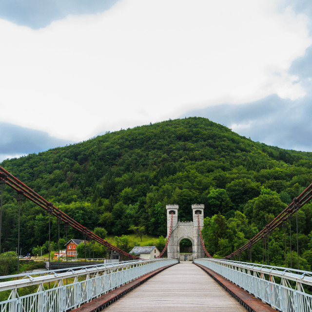 """""""Bridge of the Caille France"""" stock image"""