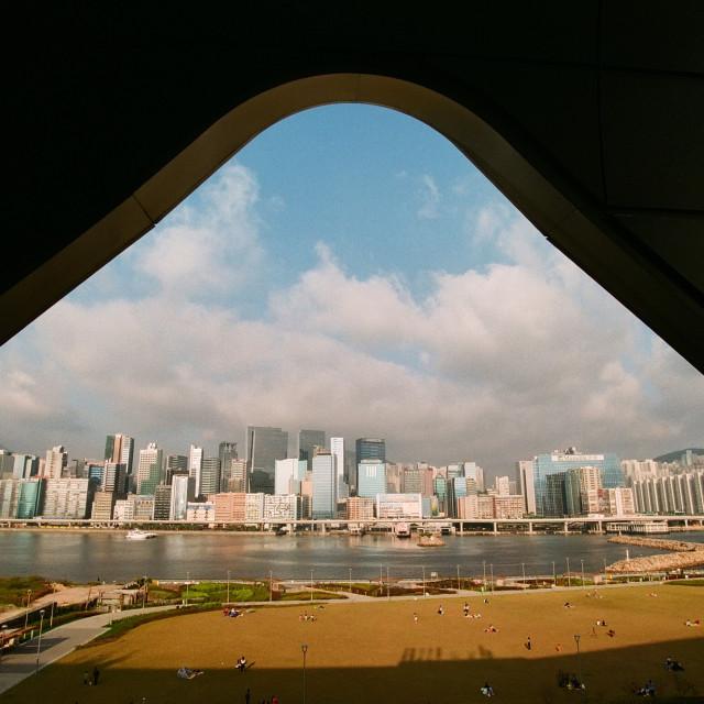 """""""Ngau Tau Kok, Hong Kong"""" stock image"""