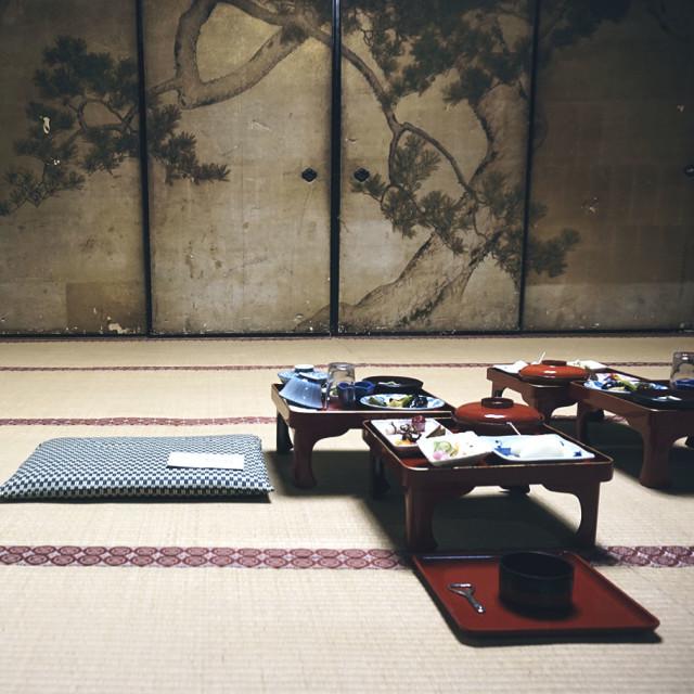 """Japanese monks"" stock image"