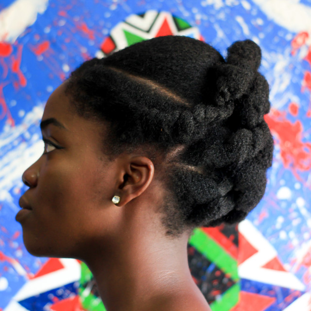 """Natural Hair"" stock image"