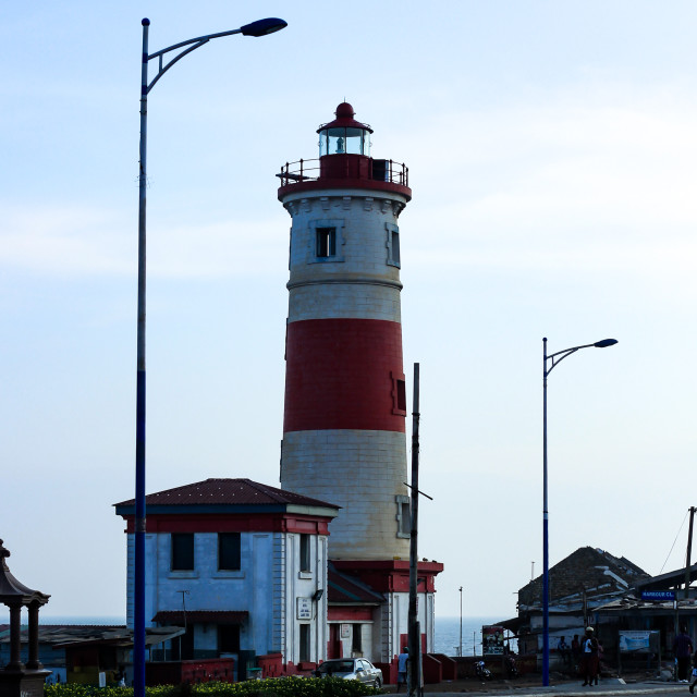 """Light House"" stock image"