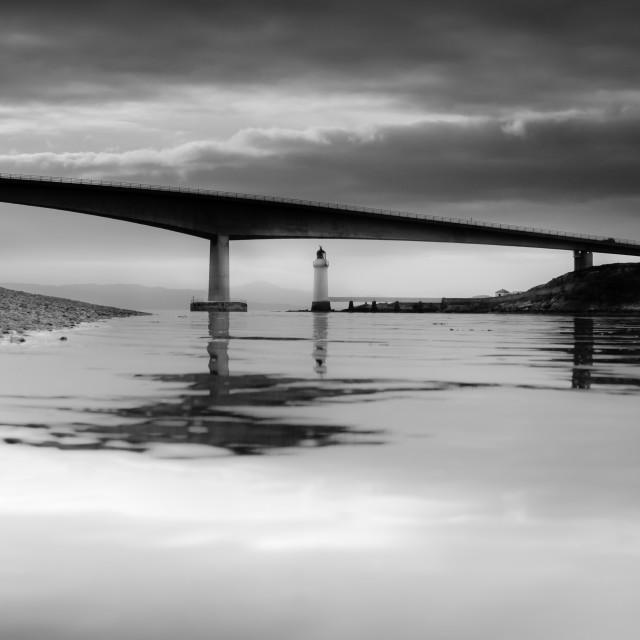 """""""SKYE BRIDGE, ISLE OF SKYE, SCOTLAND"""" stock image"""