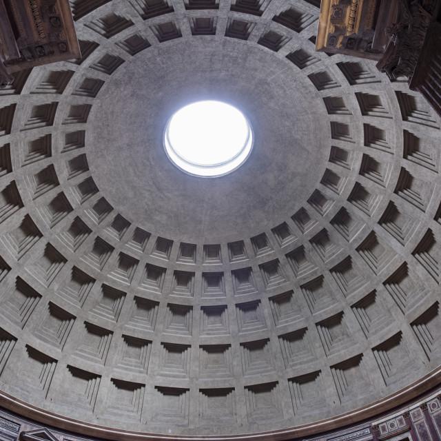 """The Roman Pantheon"" stock image"