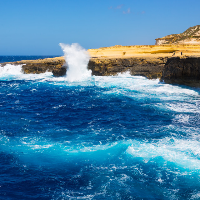 """Gozo Coast [23]"" stock image"